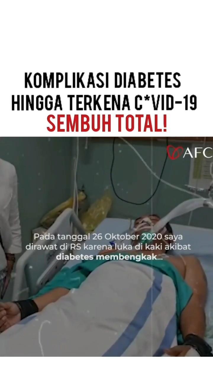 Info kuliner, @afcindonesia.official  Testimoni Penderita dengan komplikasi DIABETES, konsumsi SUBARASHI serta UTS…
