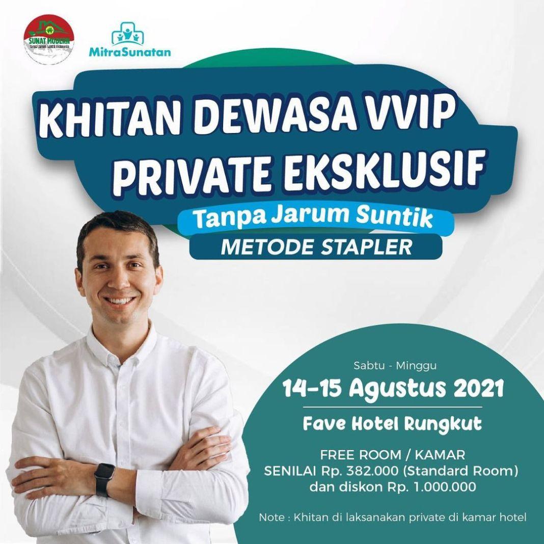 Hai . Mitra sunatan ada event lagi Khitan Dewasa VVIP di Fave Hotel Rungkut Surabaya (part 2)…..