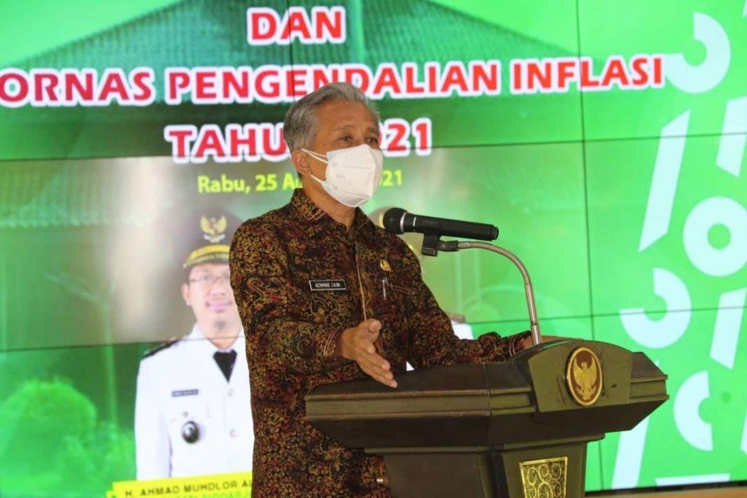 Rakor High Level Meeting, Sekda Instruksikan TPID Harus dapat Kendalikan Inflasi Daerah  Komi…