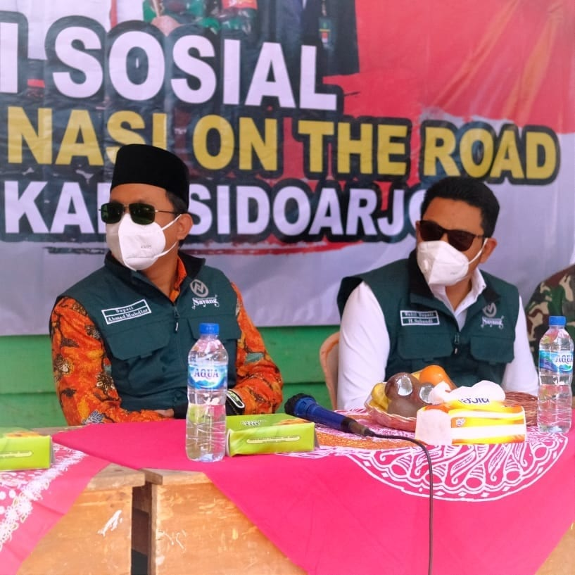 Gerai Vaksinasi On The Road Forkopimda Sidoarjo yang diinisiasi Polresta Sidoarjo serta Kodim 0…