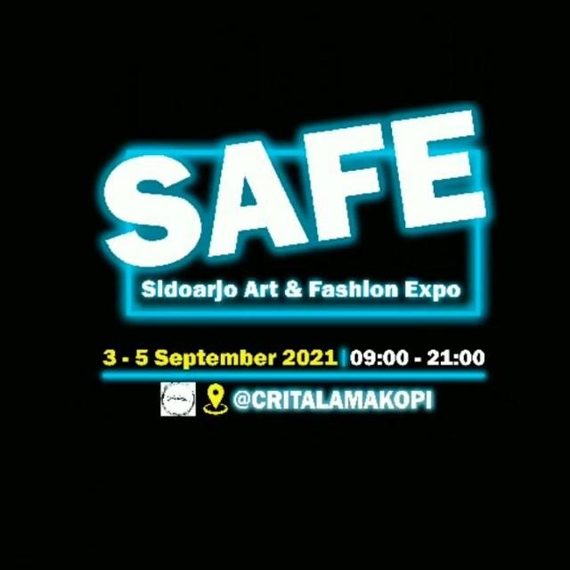 Sidoarjo Art and Fashion Expo (SAFE)   Halo masyarakat sidoarjo… Ingat serta catat tanggal nya …
