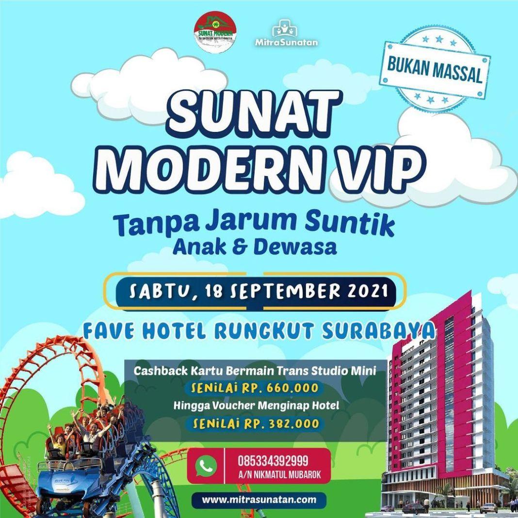 Sunat Modern VIP di Fave Hotel Rungkut bareng mitra sunatan! PART 4.. untuk Anak2 serta dewasa.. …