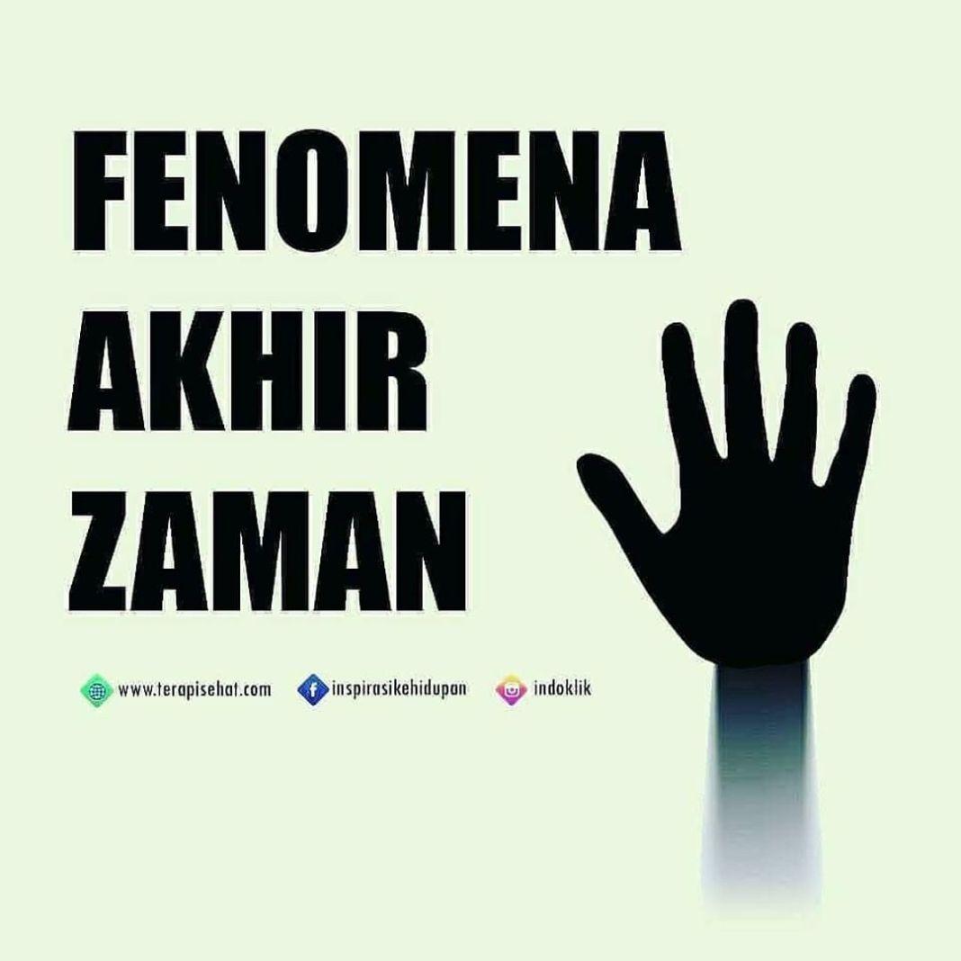 Info sehat, Fenomena akhir zaman, gimana menurut teman2  .  repost @indoklik #inspirasikehidupan #likeforli…
