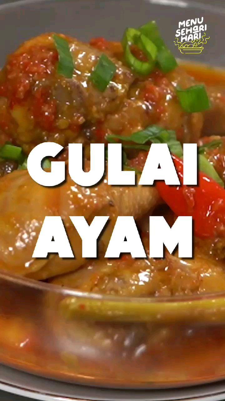 Info kuliner, Hai Moms Masak gulai ayam untuk menu makan siang yuuk.  Bahan-bahan: 5 Potong  Paha Ayam  bumbu…