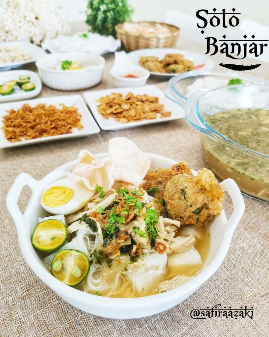 Info kuliner, Selamat pagiii!! pagi ini udh bikin masakan apa nih moms??  Soto Banjar @safiraazaki Source : D…