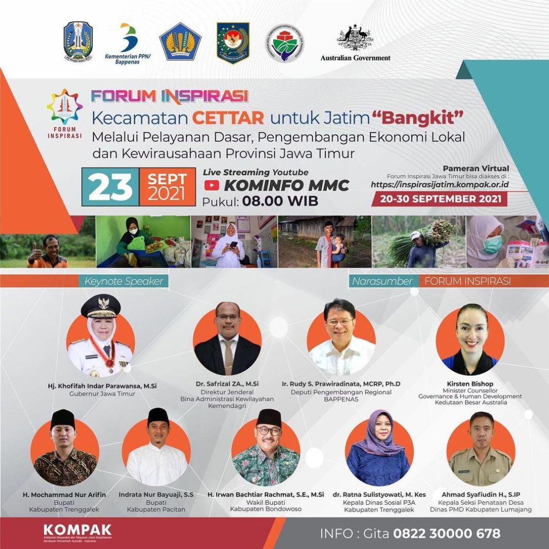 Pemerintah Provinsi Jawa Timur serta Kolaborasi Masyarakat serta Pelayanan untuk Kesejahteraan (KOM…