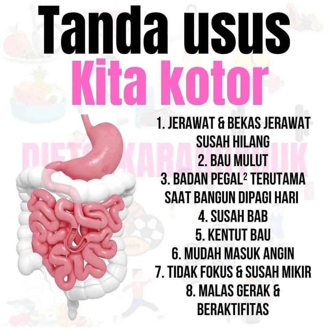 Info sehat, Nahhh sekarang sudah tau kann guyss tanda usus kita kotor, bagaimana yahh cara membersihkan usu…