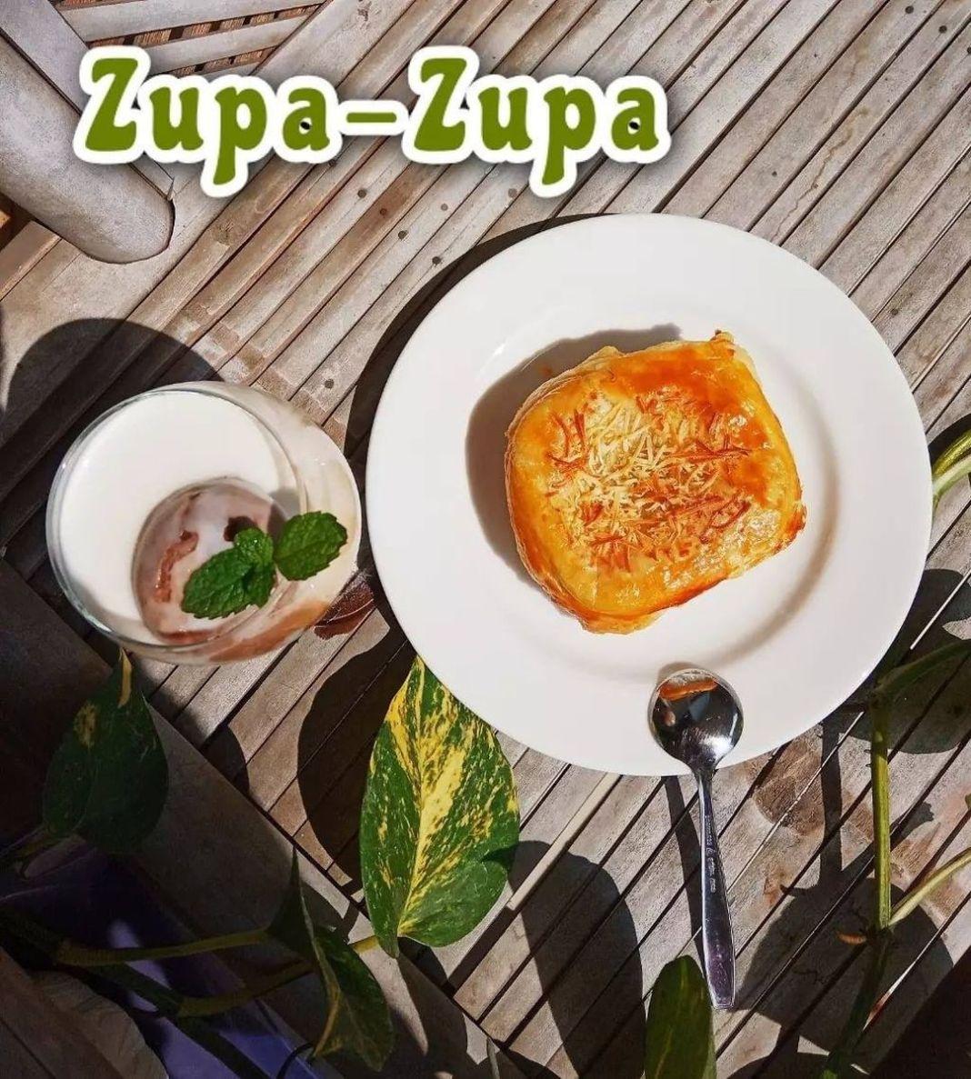Info kuliner, siapa nih pecinta zuppa soup??? yukkk dicoba bikin!  Bahan 'Zupa-zupa' : Kulit zupa-zupa/ puff …