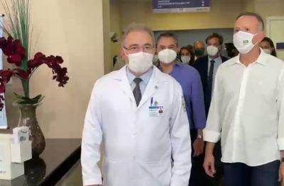 Ministro diz estar conversando com gestores da Paraíba para acelerar vacinação