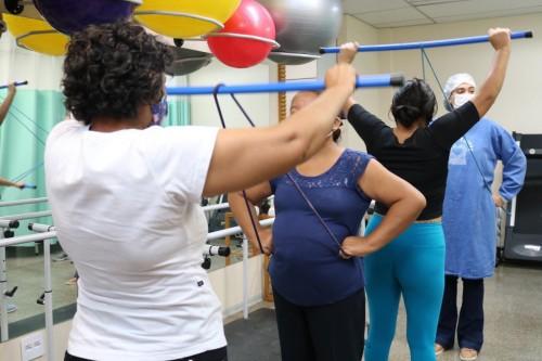 Na FCecon, fisioterapia realiza trabalho de grupo e potencializa resultados terapêuticos