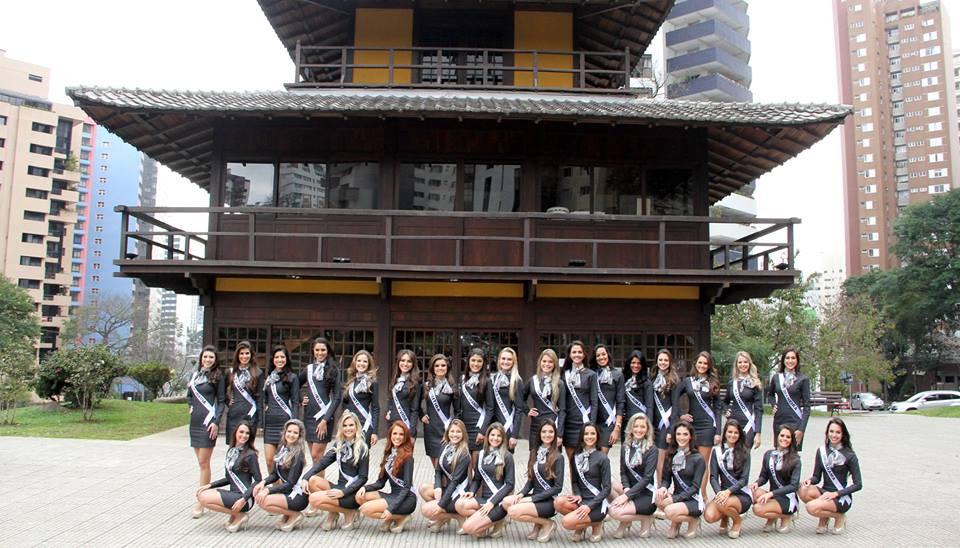 Cinco candidatas do Norte Pioneiro disputam Miss Paraná