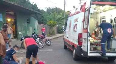 Jacarezinho: Mulher sofre queda de bicicleta no Aeroporto e população reclama demora no atendimento