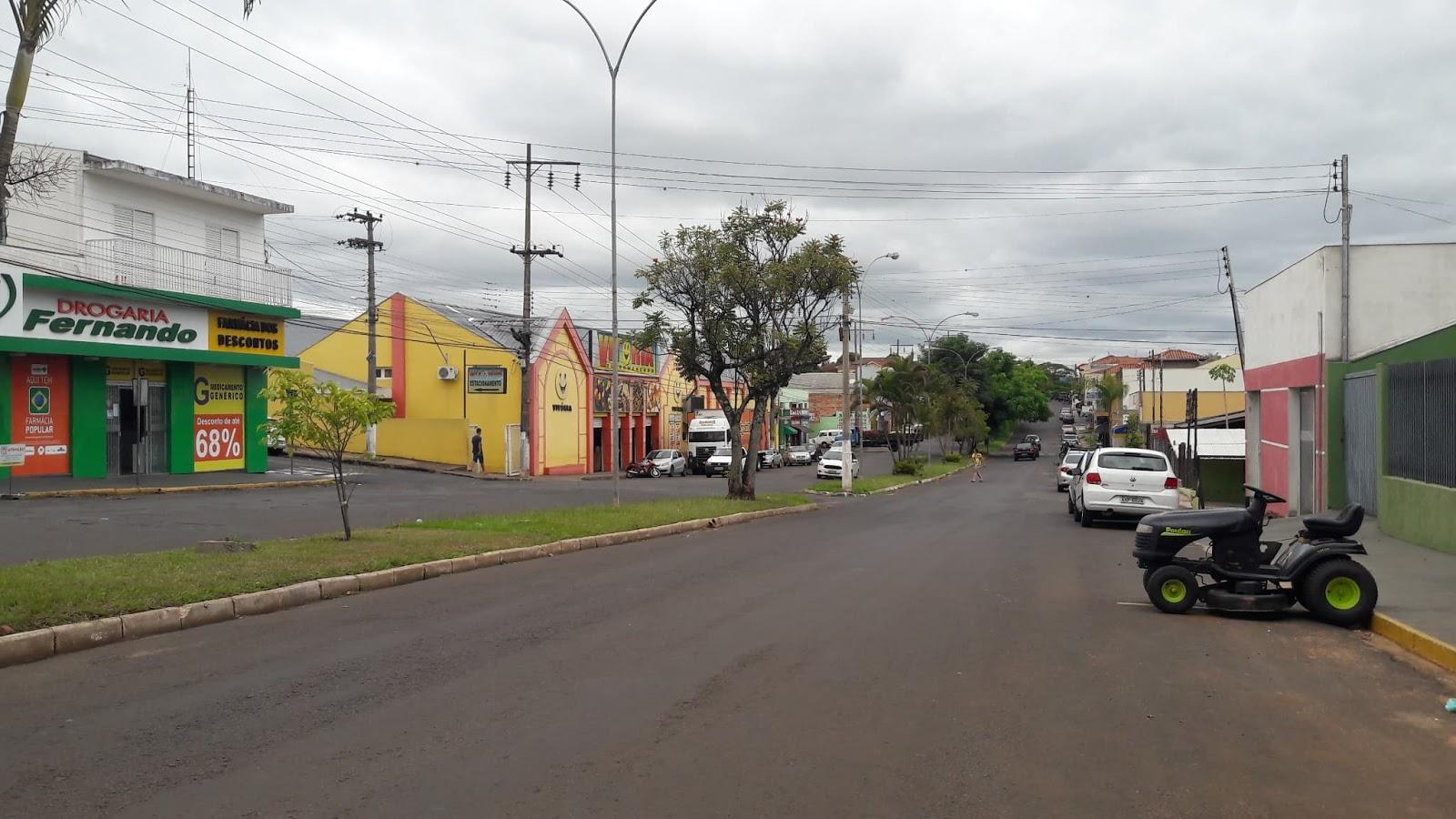 Jacarezinho: Solicitado estacionamento 45 graus na Vila Setti