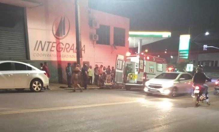 Policial evita roubo em posto, de combustíveis de Cambará; ladrão morreu