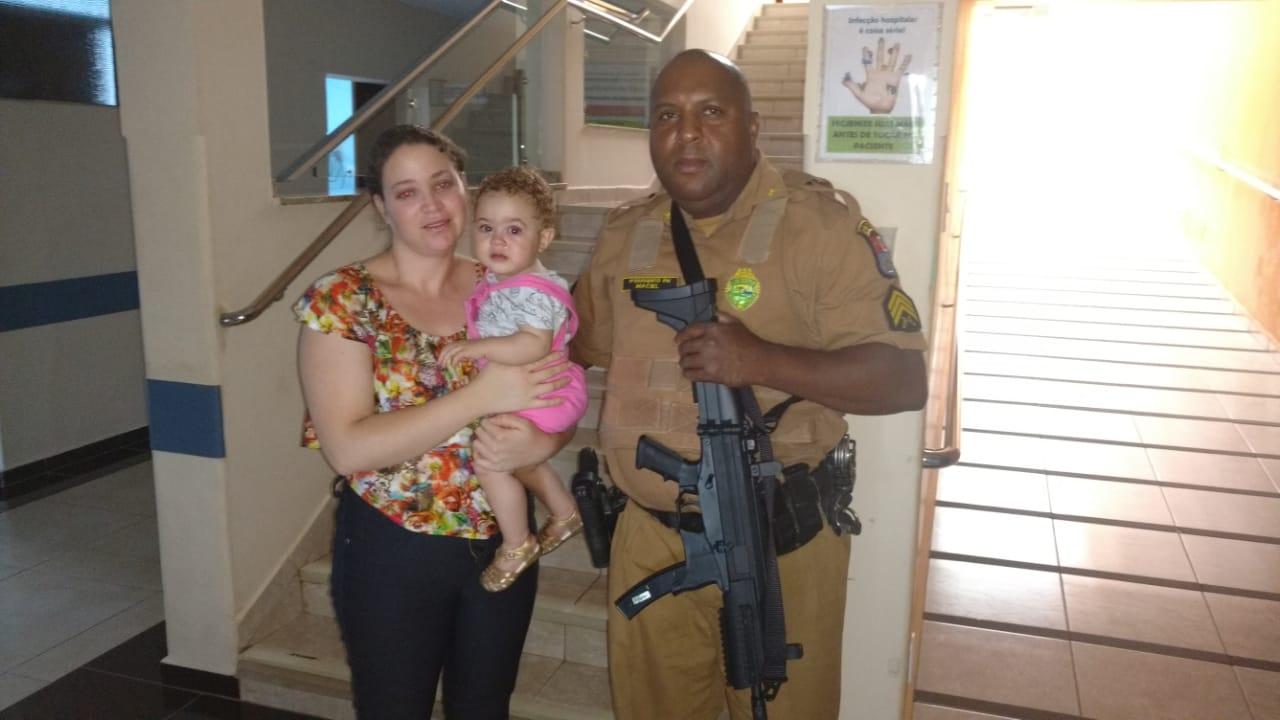 Policiais do 2º BPM salvam bebê em Ribeirão do Pinhal