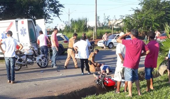 Vítima de acidente entre motocicletas em Carlópolis morre no hospital