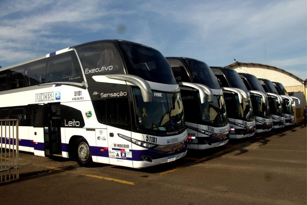 Princesa do Norte aumenta a frota com 40 ônibus novos