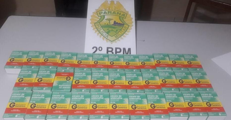 Jacarezinho: Homem é preso com crack e trinta e quatro caixas de citrato de sildenafila