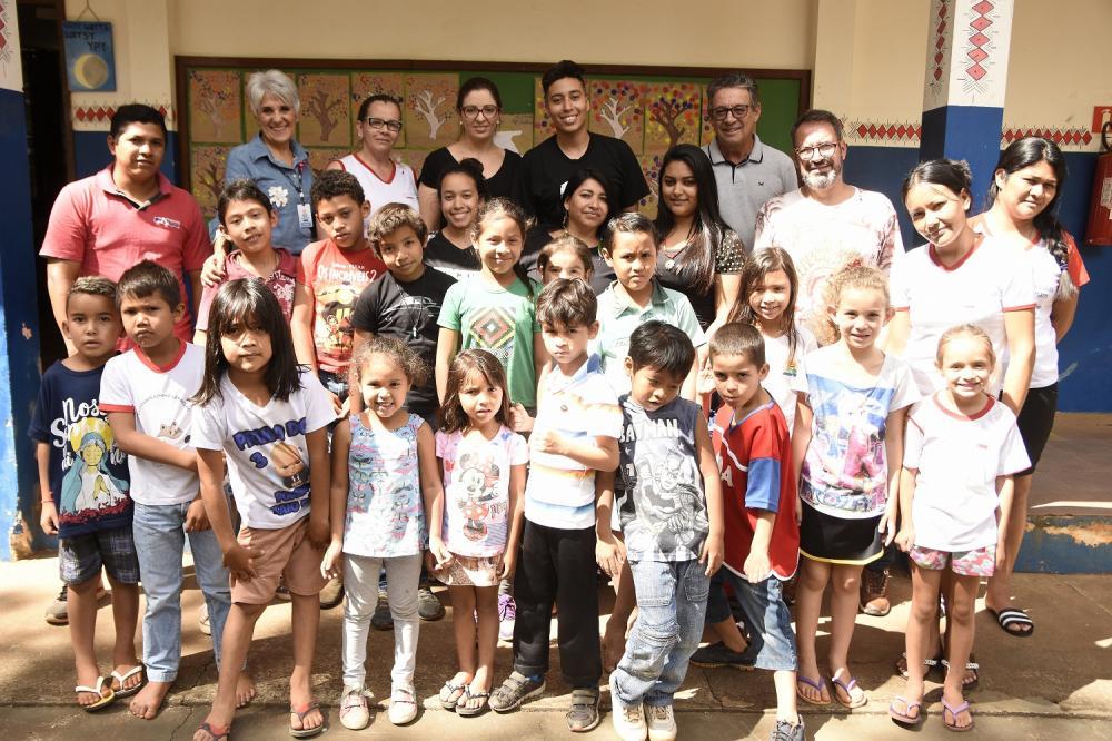 Curso de Pedagogia da UENP realiza banca de TCC em Terra Indígena de Tomazina