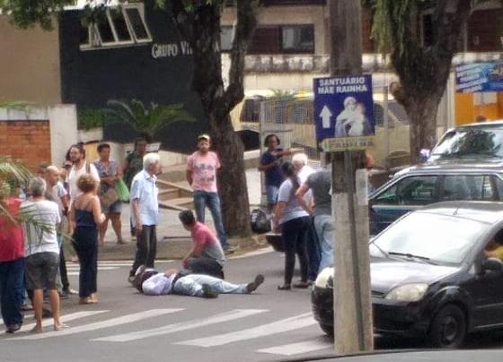 Avenida Getúlio Vargas registra mais um grave acidente de trânsito