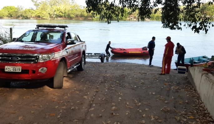 Corpo do jovem que se afogou no Rio Paranapanema é encontrado pelos bombeiros de Jacarezinho