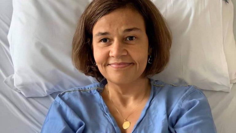 Claudia Rodrigues recebe alta de hospital em SP, diz empresária