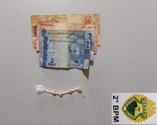 Jacarezinho: Polícia Militar prende Indivíduo com pedras de crack