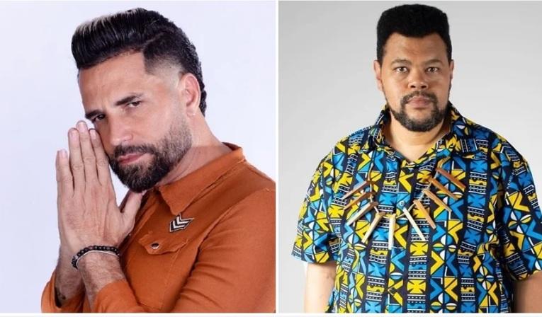 Latino se confunde e chama Babu Santana de Tim Maia brasileiro