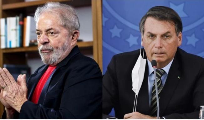 Lula e Bolsonaro estão tecnicamente empatados para 2022, diz pesquisa