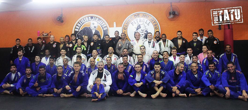 Seminário Alexander Tráns na Levi Costa Jiu Jitsu Bodyfix Gym 07/01/2017