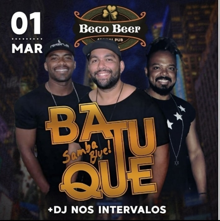 Batuque Samba Blue