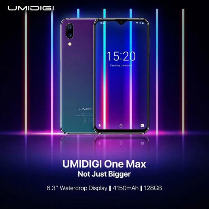 Готовится к анонсу смартфон Umidigi One Max