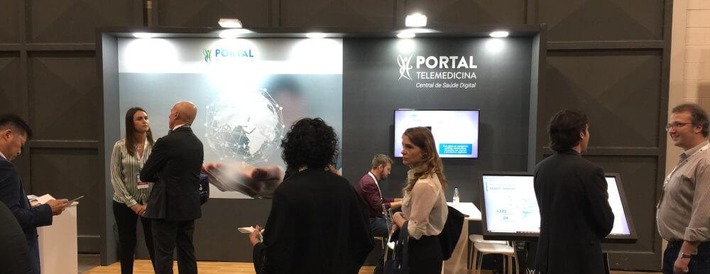 stand-portal-telemedicina-global-telemedicine-summit-2019