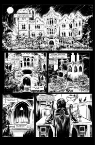 cradle of filth comic 1