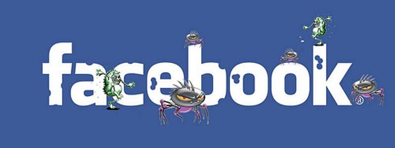 Virus redes sociais facebook