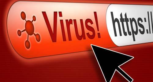 Virus na web www
