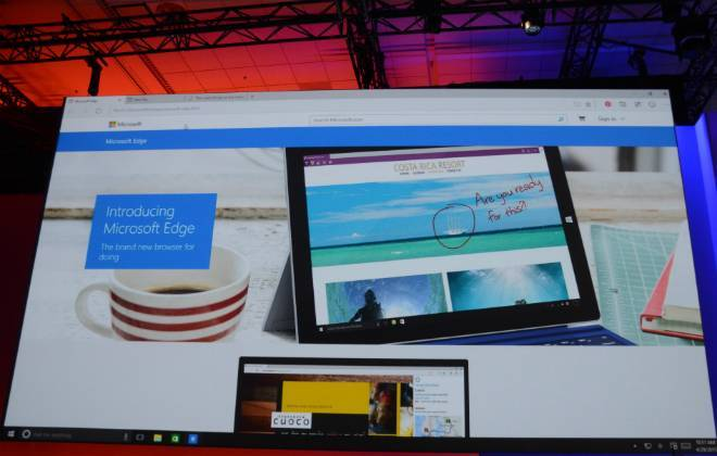 Sucessor do Internet Explorer se chama Microsoft Edge