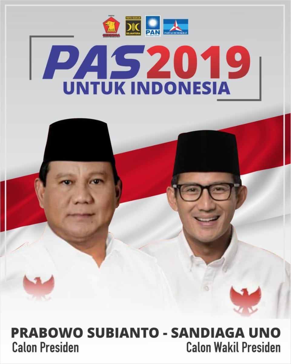 Demokrat Jatim: Prabowo-Sandi Wis Wayahe!