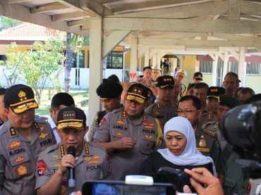 Kapolri dan Gubernur Jatim Redam Konflik Papua
