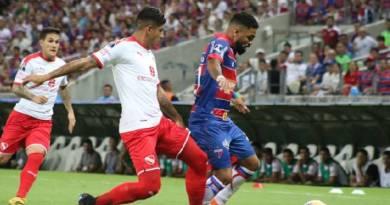 Fortaleza vence, mas leva gol no fim e é eliminado da Sul Americana
