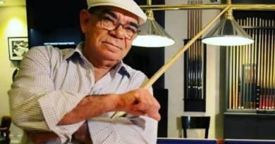 Lenda da sinuca, Rui Chapéu morre aos 79 anos