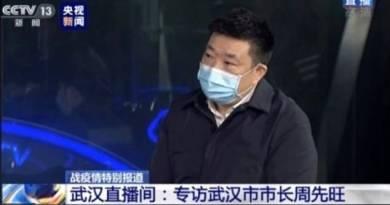 Prefeito de Wuhan assume culpa por surto de coronavírus e oferece renúncia