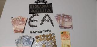 Adolescente é preso com 42 porções de maconha em Trizidela do Vale