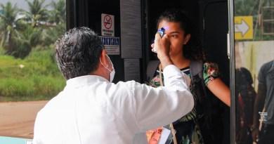Barreira sanitária é instalada na Rodoviária de São Luís para prevenção ao coronavírus