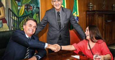 Ministro condena uso do termo 'facção' por Regina Duarte em entrevista