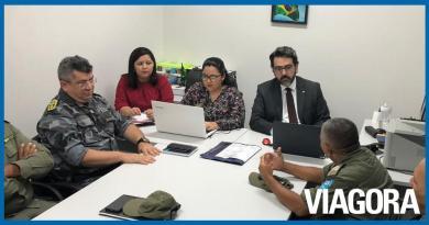 MP e Polícia Militar discutem criminalidade em Barro Duro