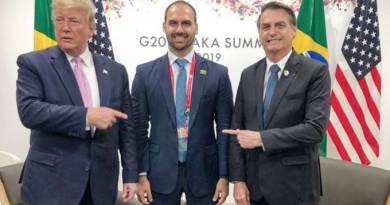 O agro que vende para a China não curtiu a lacrada de Eduardo Bolsonaro