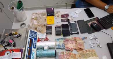 Polícia prende suspeitos de tentativa de homicídio, tráfico de drogas e posse ilegal de arma de fogo