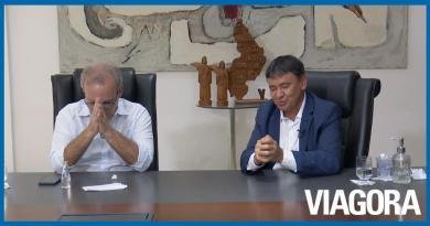 Wellington Dias e Firmino Filho rezam Pai Nosso e temem genocídio