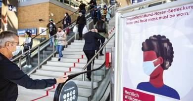 Alemanha anuncia afrouxamento gradual no controle de fronteiras